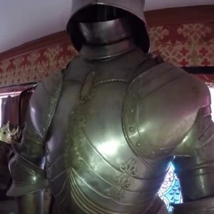 Swords, suits of armor, furniture good medieval collection! Never know what we'll get on Monday!