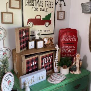 Christmas Reset In The Shop