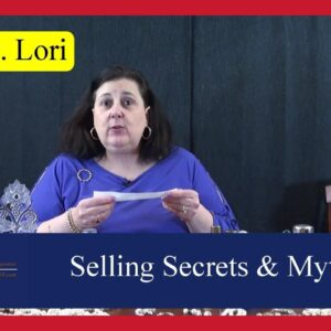 Ask Dr. Lori: Selling Secrets, How Auctions Work, Myths, Brown Furniture, Jewelry Marks by Dr. Lori