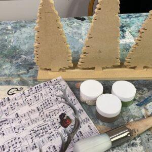Decoupage DIY JRV Home Craft Box