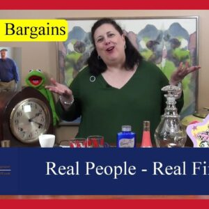 Real Finds by Real People -  Furniture, Lithographs, Glass & Plates by Dr. Lori