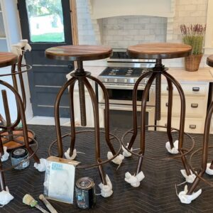 Fixing Defective barstools for a Kitchen Island