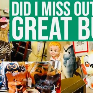 FLASHBACK FRIDAY! RESELLER REVIEW OF ANTIQUE & VINTAGE MALL TOUR