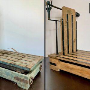 Huge and Antique Grain Scale Restoration