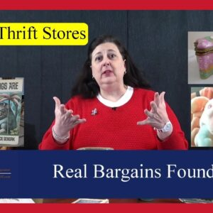 Real Bargains Found Shopping at Book Stores, Thrift Stores, Op Shops & Estate Sale Hauls by Dr. Lori
