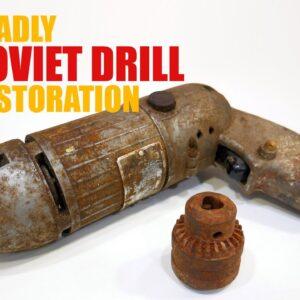Old Soviet Drill Restoration