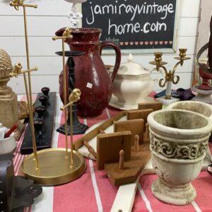 Saturday Night Thrift Haul and Garage Sale Finds