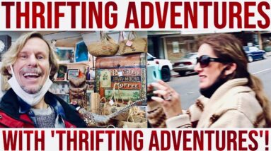 SHOPPING FOR VINTAGE | TOP TEN ANTIQUE TOWN! | A THRIFT ADVENTURE