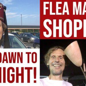 THRIFT SHOPPING DAY & NIGHT! | FLEA MARKET ESTATE SALE BARGAINS