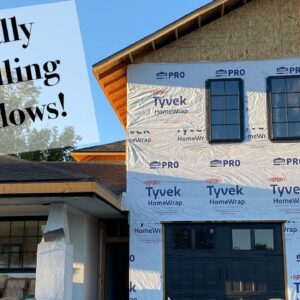 Windows in the Second Story of Our Home Addition!