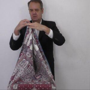6403 Export Indian Dyed Cotton Prayer Cloth Jainamaz