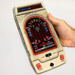 Electronic Pinball Retro Game Restoration