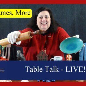 Mid-Century Modern, Kitchen, Travel, Fishing | Treasure Hunt Game | Dr. Lori's Table Talk LIVE
