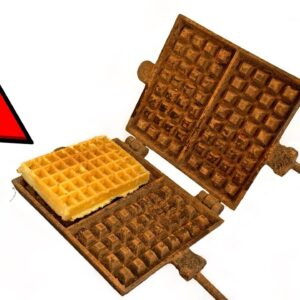 I Restored this Waffle Maker - I'm Making a Waffle for You!