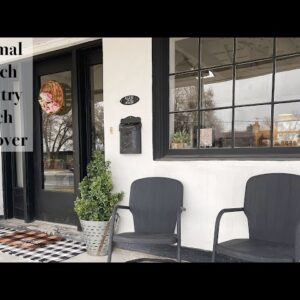 Minimal French Country Porch Makeover Ideas  Spring 2021