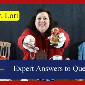 Murano & Depression Glass, Dishes, Artist Proofs, Jewelry, Dolls, More | Ask Dr. Lori LIVE