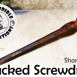 Short Version - Restoration of a Wrought Iron Screwdriver