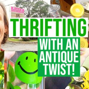 THRIFTING WITH AN ANTIQUE TWIST! | SHOP WITH ME | VINTAGE RESELL