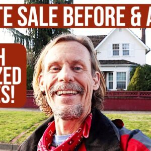 WHAT SOLD AT THE ANTIQUE ESTATE SALE? | RESELLER PRICE GUIDE