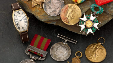 record breaking wwi cartier watch sells for over 15000 at auction