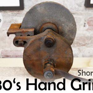 Short Version - 1930's Hand Cranked Grinder Restoration