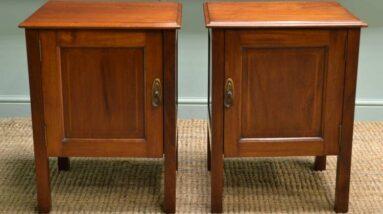 antique bedside cabinets