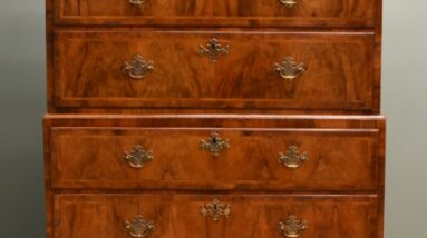 antique chest on chests tallboy