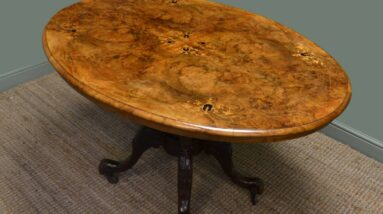 antique loo tables