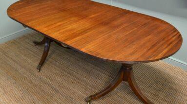 antique pedestal tables
