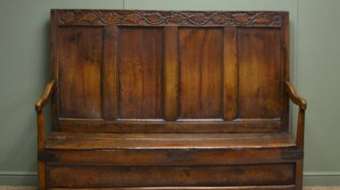 antique settles benches