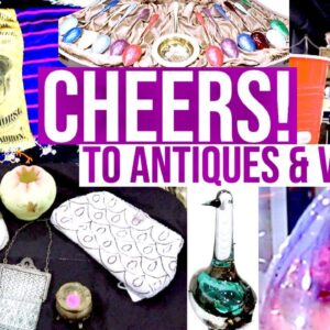 GREAT ANTIQUE SHOPPING & VINTAGE RESELLING | SHOP WITH ME