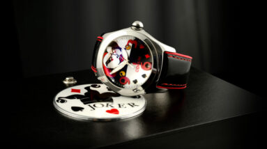 limited edition joker watch comes with its own magic box