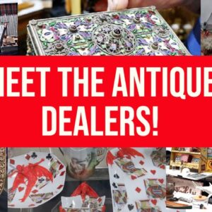MEET THE DEALERS AND SHOP WITH US! | VINTAGE ANTIQUE SHOW SEARCH