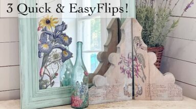 3 Quick Easy Flips With IOD Transfer Scraps