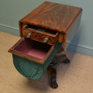 antique sewing work box