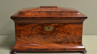antique tea caddies writing slopes small boxes