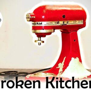 Best birthday present I've ever made  - Restoration of a broken KitchenAid