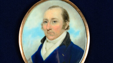 portrait painted by archibald skirving after spending time in french prison could sell for 5000