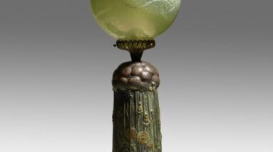 rago auctions breaks the world record price for a tiffany studios lamp may 13 2021