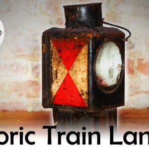 150 Hours of Work on this Train Lantern Restoration. Worth the Sweat?