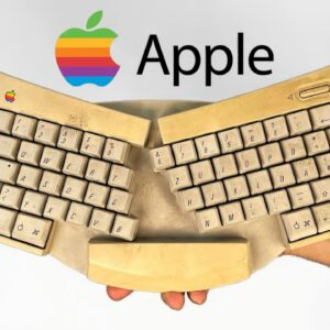 Dirty and Yellowed Apple Keyboard Restoration - Retrobright Technique