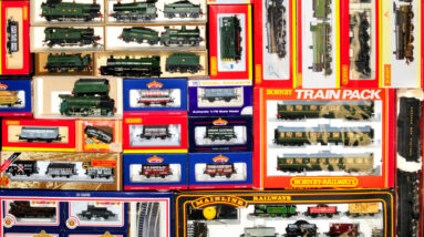 largest ever train collection at fellows fetches just under 25000