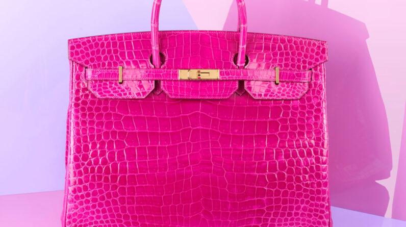 pink hermes birkin handbag sells for just under 20000 at uk auction