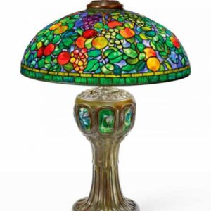 sothebys sold tiffany studios lamps and glass at their important design from noguchi to lalanne sale may 25 2021