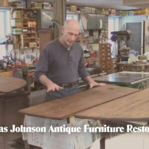 Restoring an early 18th c. Drop-leaf Dining Table - Thomas Johnson Antique Furniture Restoration
