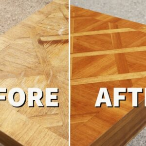 Thrift Store Rescue #23 | Refinishing And Repairing a Thrift Store Table | Furniture Restoration