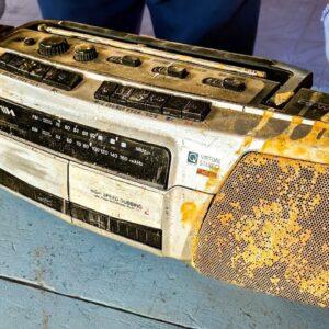 Restoration Old sony Stereo radio Cassette | Restore Boombox AM/FM Radio