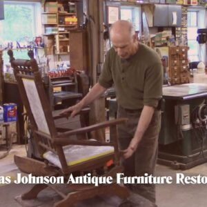Restoring a Victorian Rocking Chair - Thomas Johnson Antique Furniture Restoration