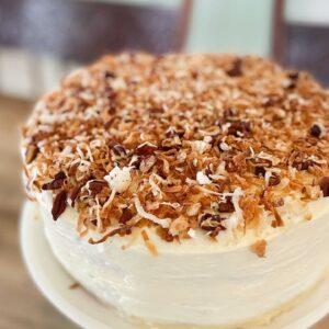 Amazing Coconut Pecan Cake Recipe Home Made