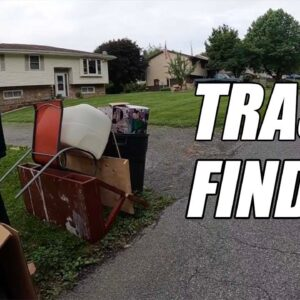 Crazy Finds Found In The Trash! Garbage Picking Ep. 447